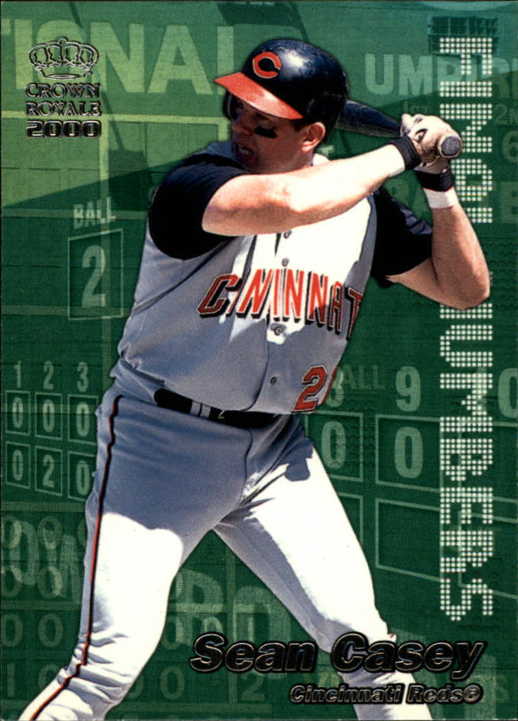 2000 Crown Royale Final Numbers #9 Sean Casey
