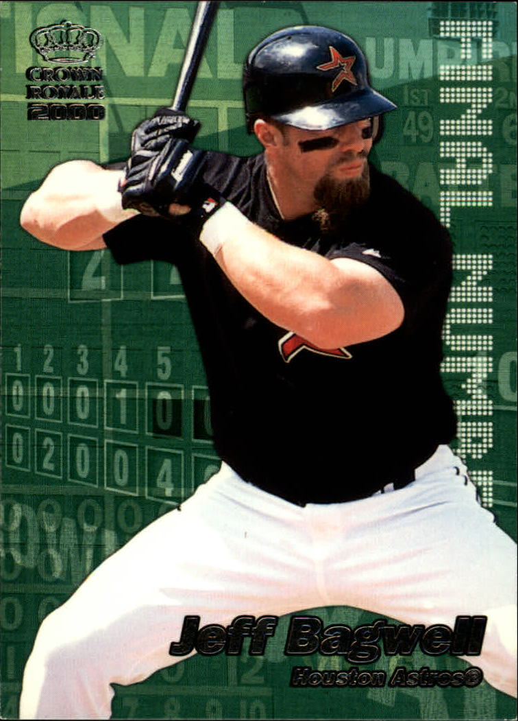 2000 Crown Royale Final Numbers #12 Jeff Bagwell