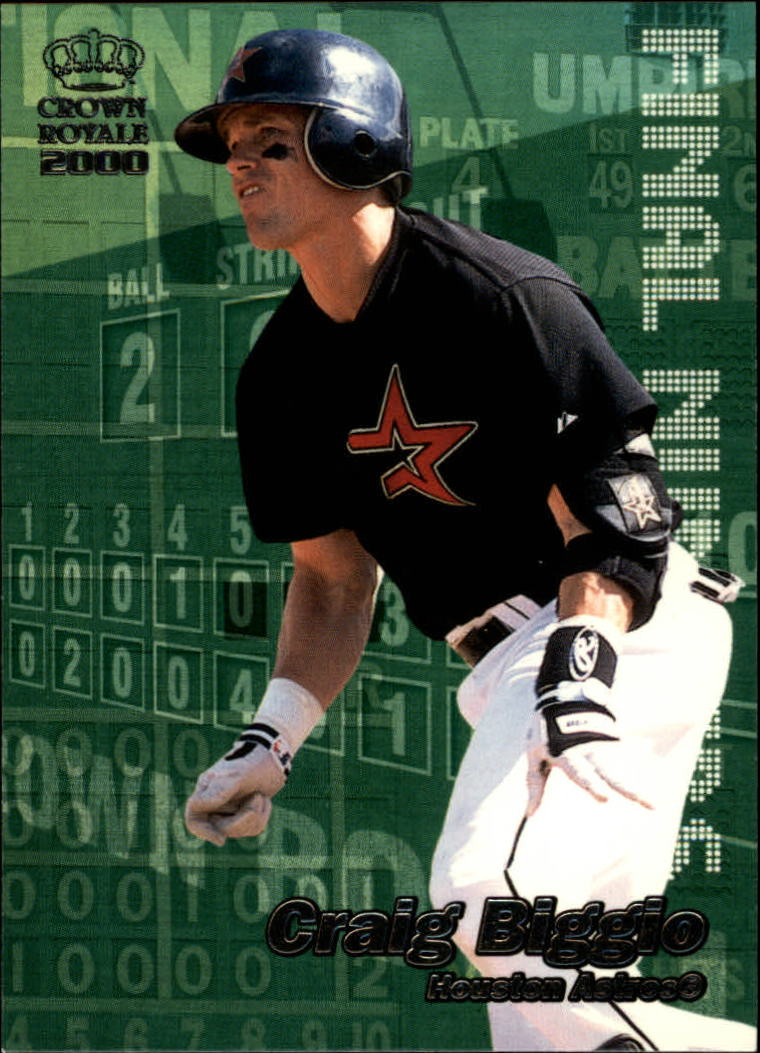 2000 Crown Royale Final Numbers #13 Craig Biggio