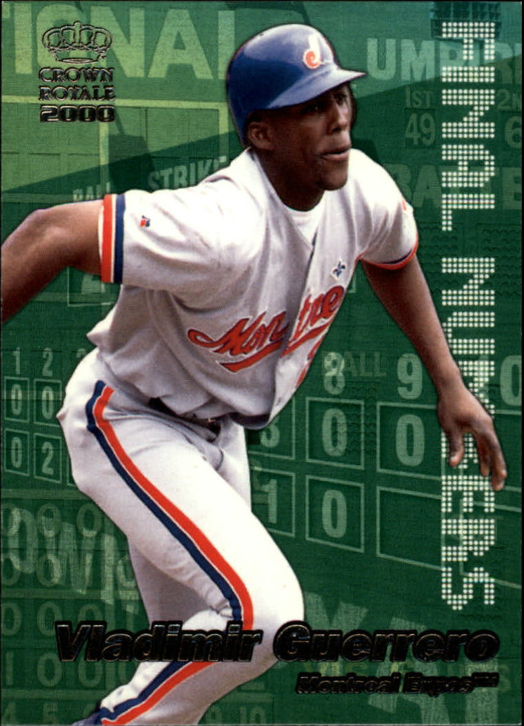 2000 Crown Royale Final Numbers #15 Vladimir Guerrero