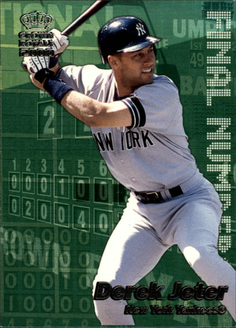 2000 Crown Royale Final Numbers #17 Derek Jeter