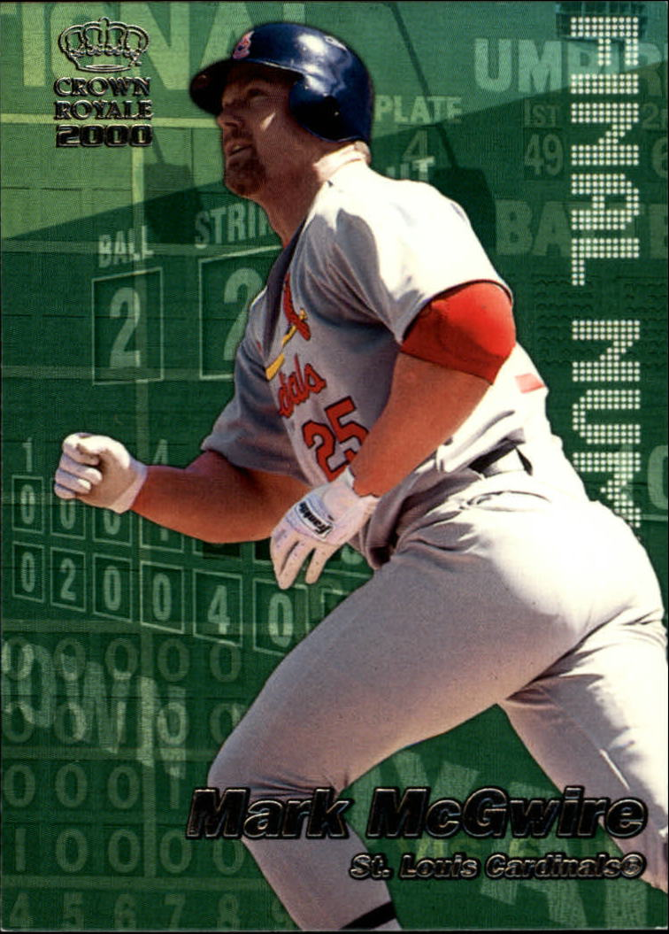 2000 Crown Royale Final Numbers #20 Mark McGwire