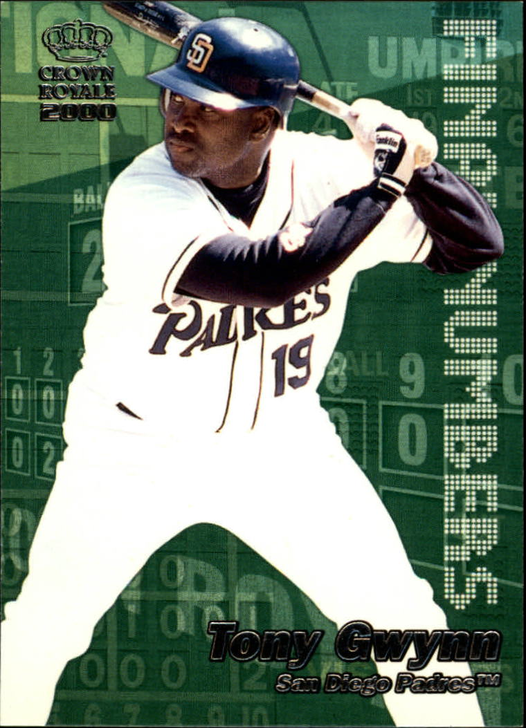 2000 Crown Royale Final Numbers #21 Tony Gwynn