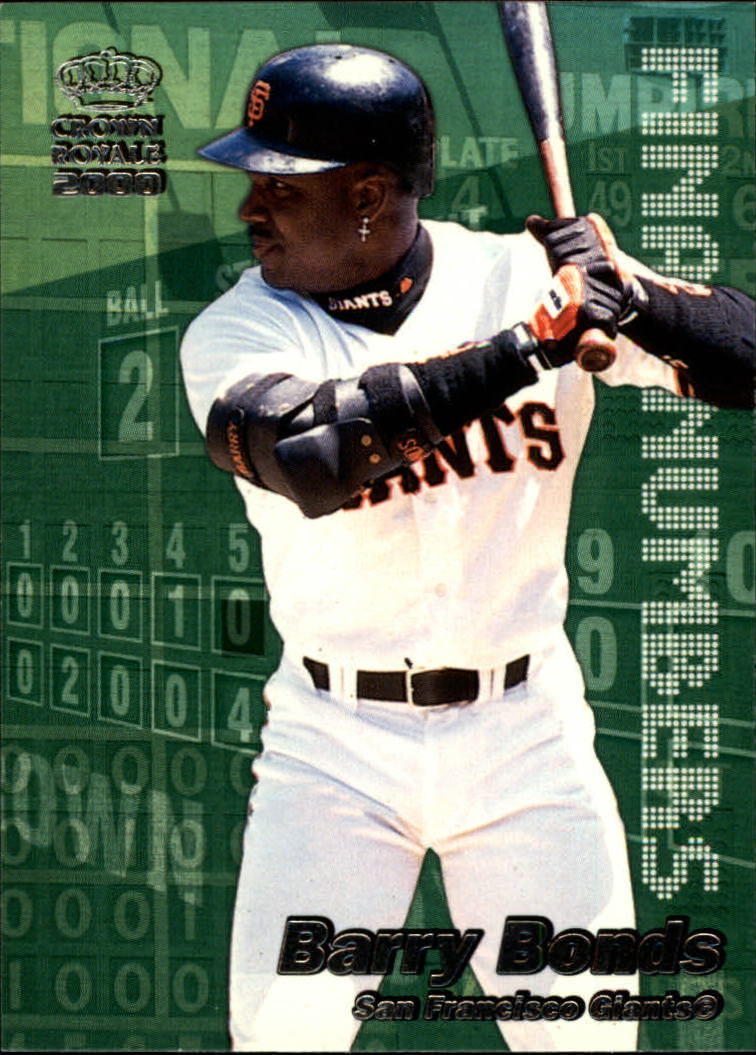 2000 Crown Royale Final Numbers #22 Barry Bonds