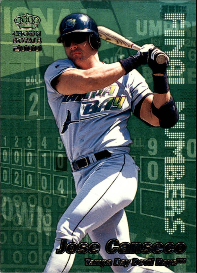2000 Crown Royale Final Numbers #24 Jose Canseco
