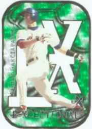 2000 E-X E-Xceptional Green #XC3 Nomar Garciaparra