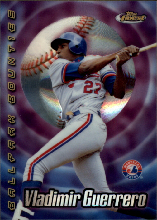 2000 Finest Ballpark Bounties #BB3 Vladimir Guerrero