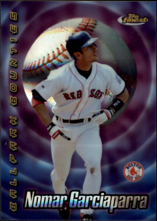 2000 Finest Ballpark Bounties #BB5 Nomar Garciaparra