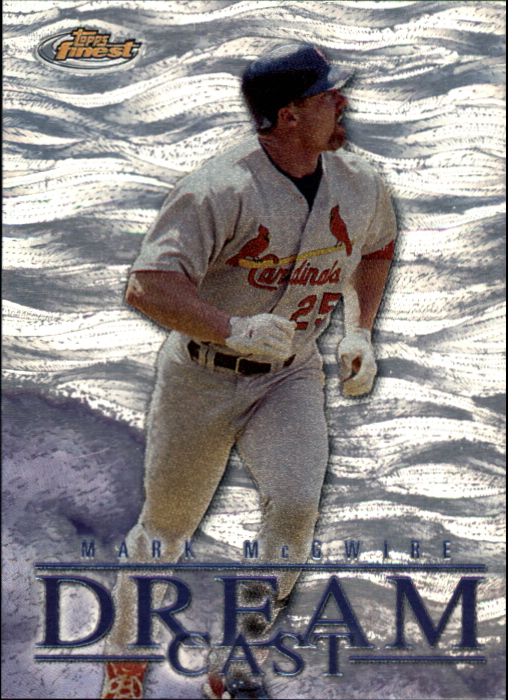 2000 Finest Dream Cast #DC1 Mark McGwire