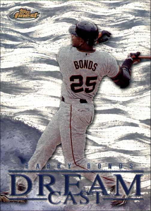 2000 Finest Dream Cast #DC5 Barry Bonds
