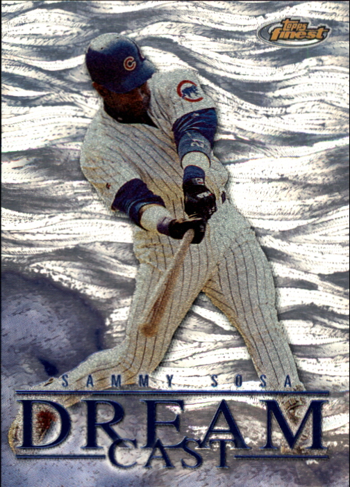 2000 Finest Dream Cast #DC7 Sammy Sosa