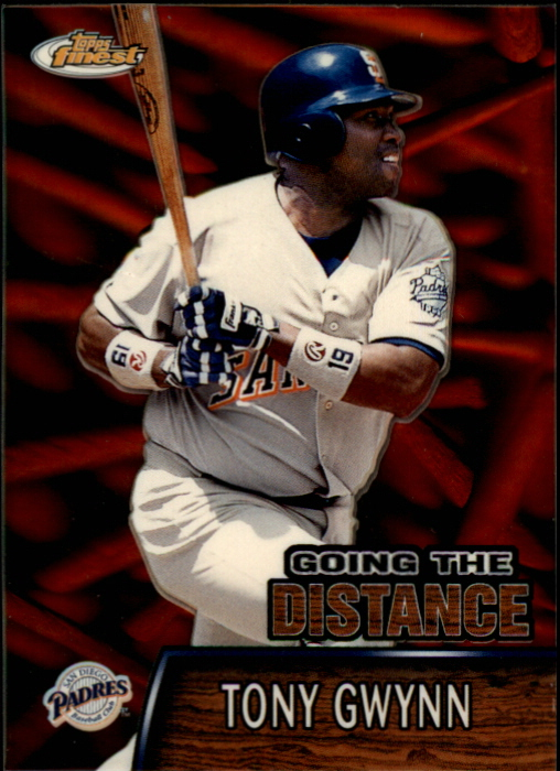 2000 Finest Going the Distance #GTD1 Tony Gwynn