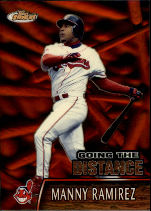 2000 Finest Going the Distance #GTD11 Manny Ramirez