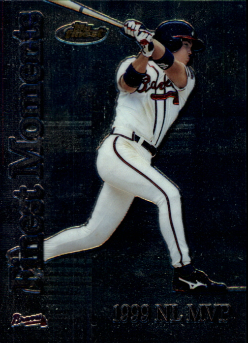 2000 Finest Moments #FM1 Chipper Jones