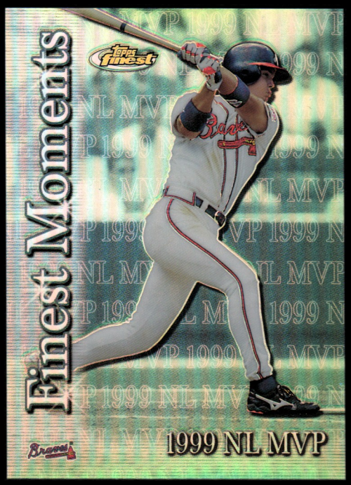 2000 Finest Moments Refractors #FM1 Chipper Jones