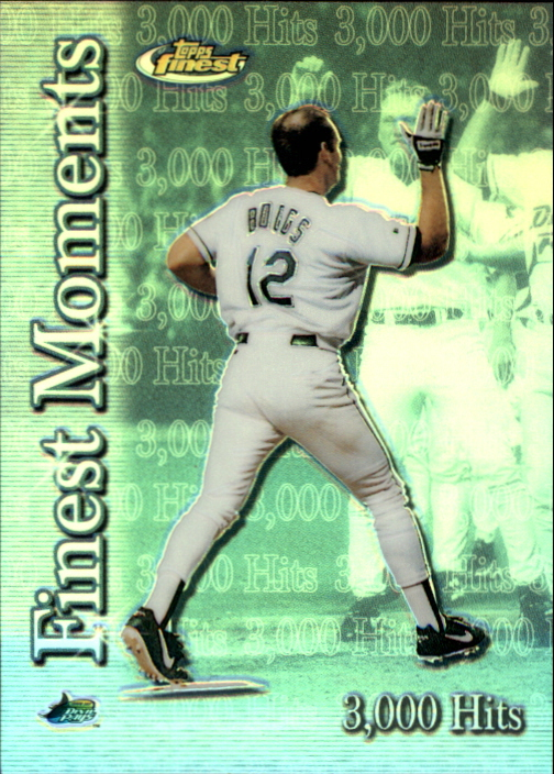 2000 Finest Moments Refractors #FM4 Wade Boggs