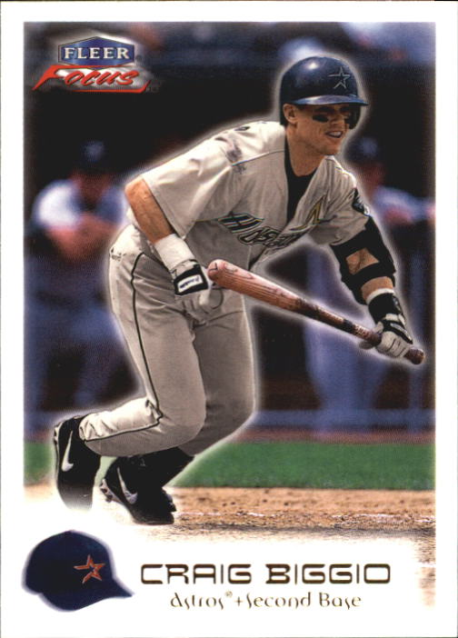 2000 Fleer Focus #13 Craig Biggio
