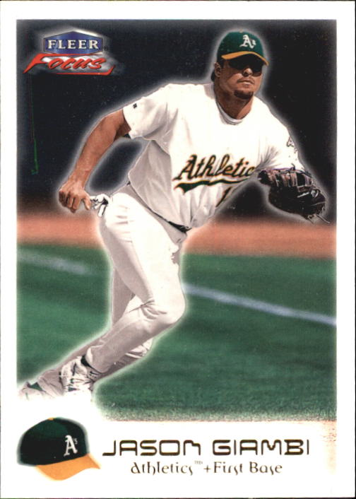 2000 Fleer Focus #49 Jason Giambi