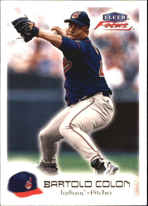 2000 Fleer Focus #51 Bartolo Colon