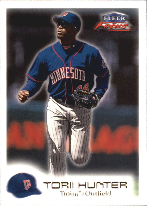 2000 Fleer Focus #92 Torii Hunter