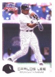 2000 Fleer Focus #98 Carlos Lee