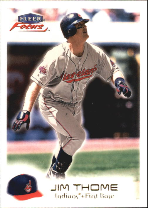 2000 Fleer Focus #107 Jim Thome
