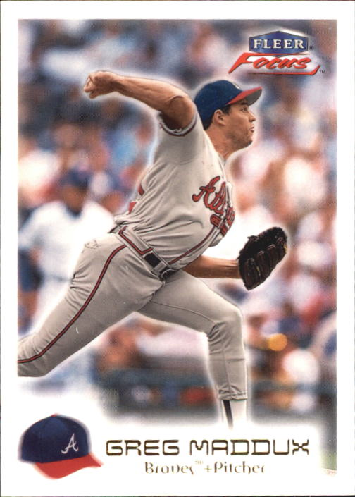 2000 Fleer Focus #158 Greg Maddux