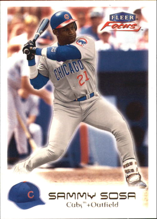2000 Fleer Focus #167 Sammy Sosa