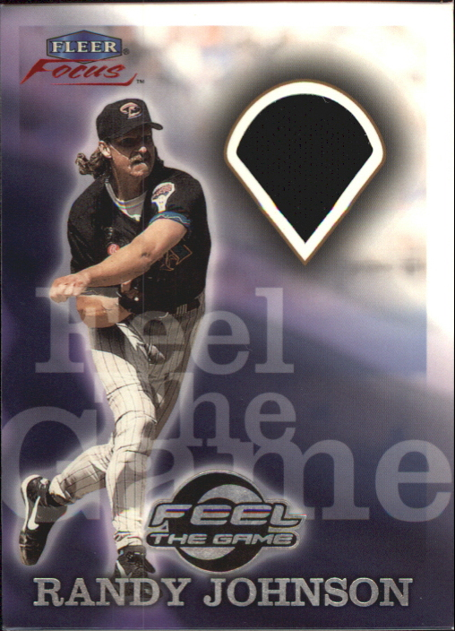 2000 Fleer Focus Feel the Game #2 Randy Johnson