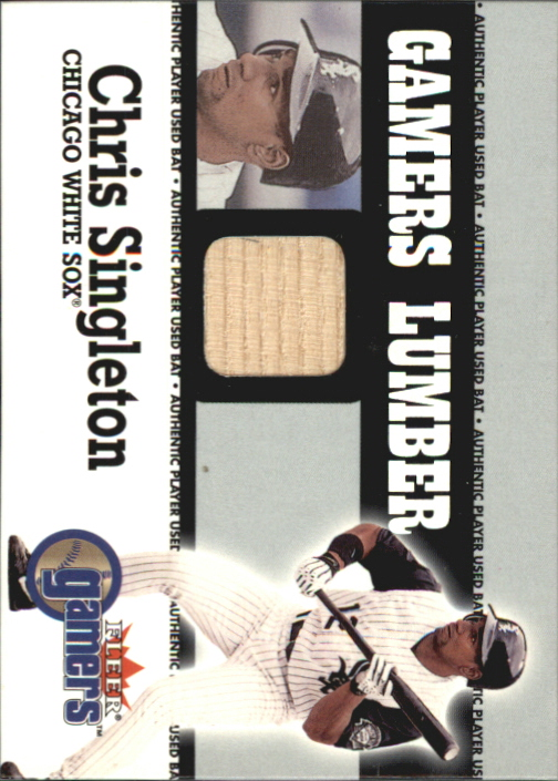 2000 Fleer Gamers Lumber #41 Chris Singleton