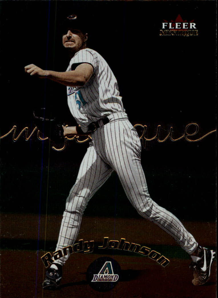2000 Fleer Mystique #39 Randy Johnson