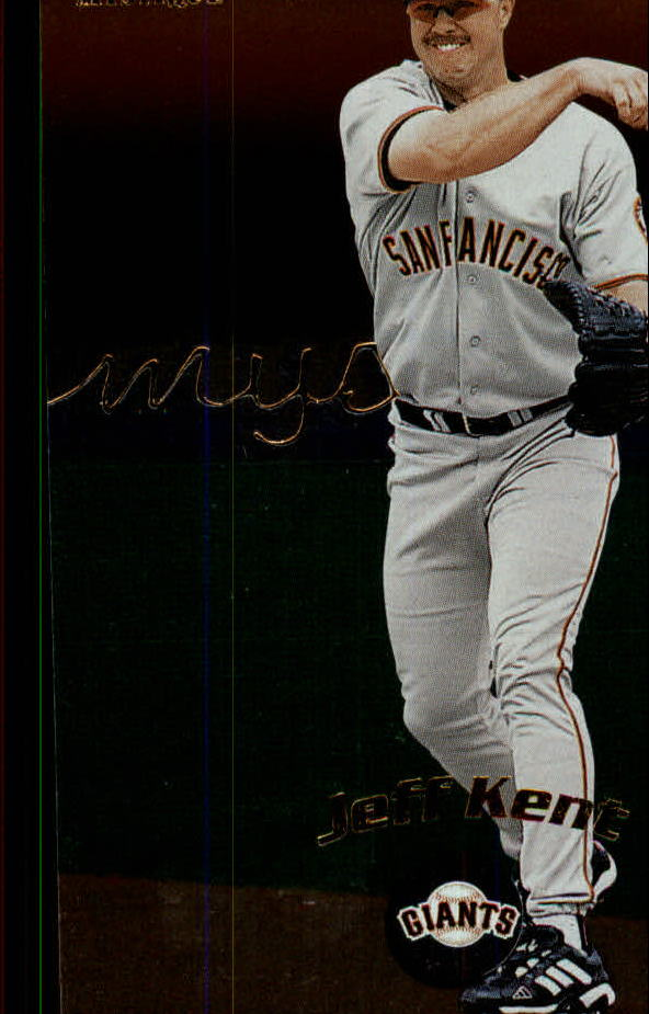 2000 Fleer Mystique #62 Jeff Kent