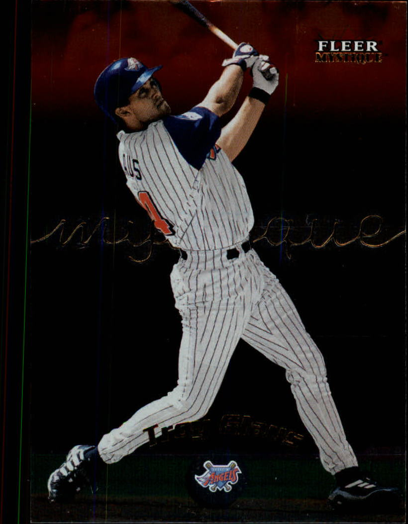 2000 Fleer Mystique #82 Troy Glaus