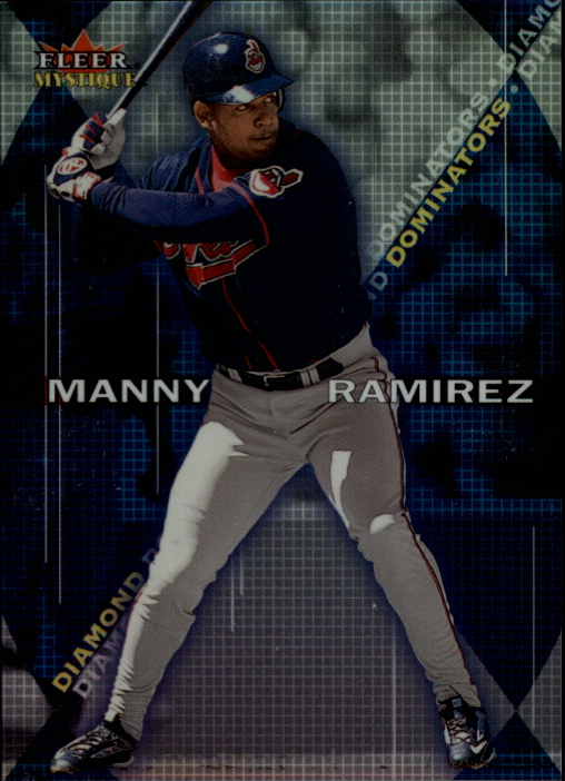 2000 Fleer Mystique Diamond Dominators #DD1 Manny Ramirez