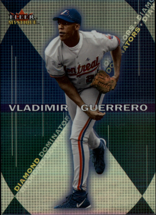 2000 Fleer Mystique Diamond Dominators #DD4 Vladimir Guerrero