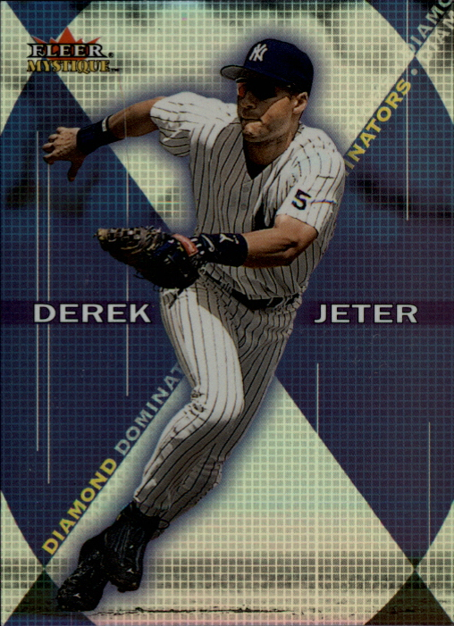 2000 Fleer Mystique Diamond Dominators #DD9 Derek Jeter