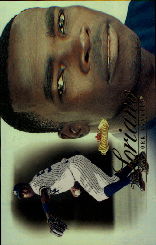2000 Fleer Showcase Prospect Showcase First #23 Alfonso Soriano