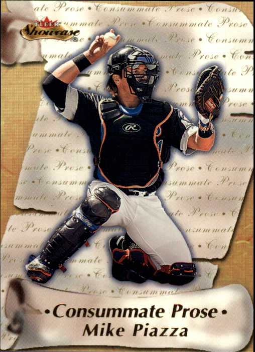 2000 Fleer Showcase Consummate Prose #CP14 Mike Piazza
