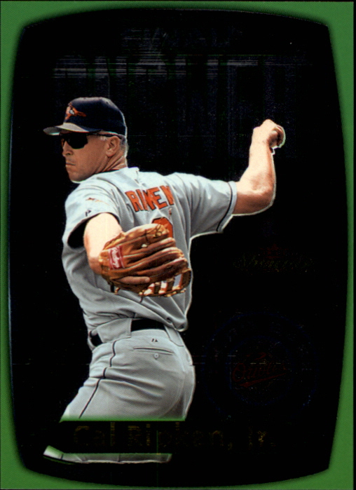 2000 Fleer Showcase Final Answer #3 Cal Ripken