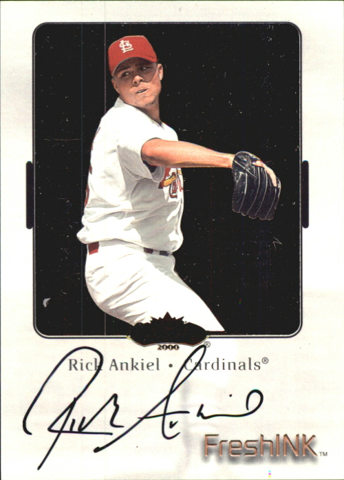 2000 Fleer Showcase Fresh Ink #1 Rick Ankiel