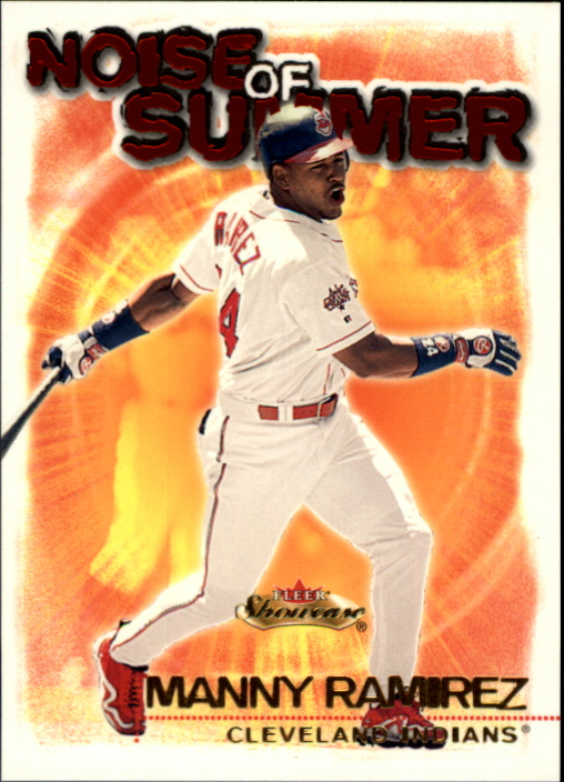 2000 Fleer Showcase Noise of Summer #NS3 Manny Ramirez
