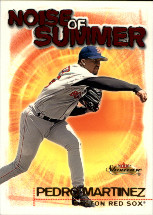 2000 Fleer Showcase Noise of Summer #NS7 Pedro Martinez