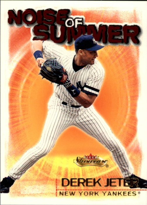 2000 Fleer Showcase Noise of Summer #NS9 Derek Jeter