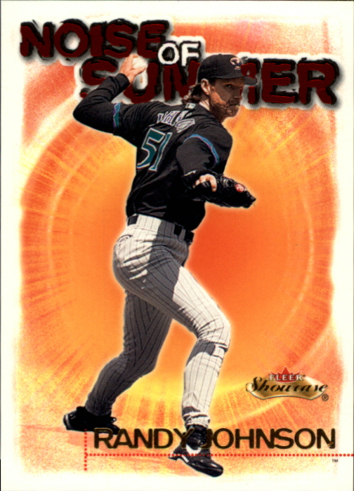 2000 Fleer Showcase Noise of Summer #NS10 Randy Johnson