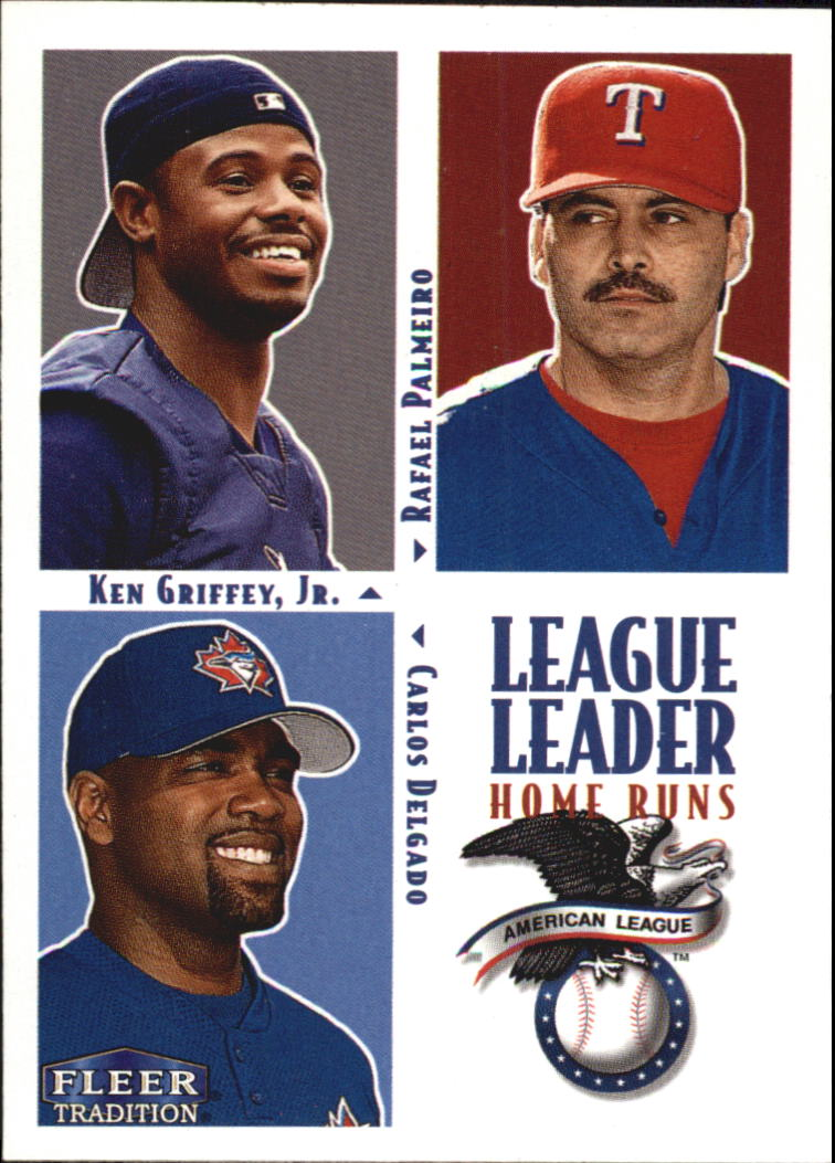 2000 Fleer Tradition #1 AL Home Run LL