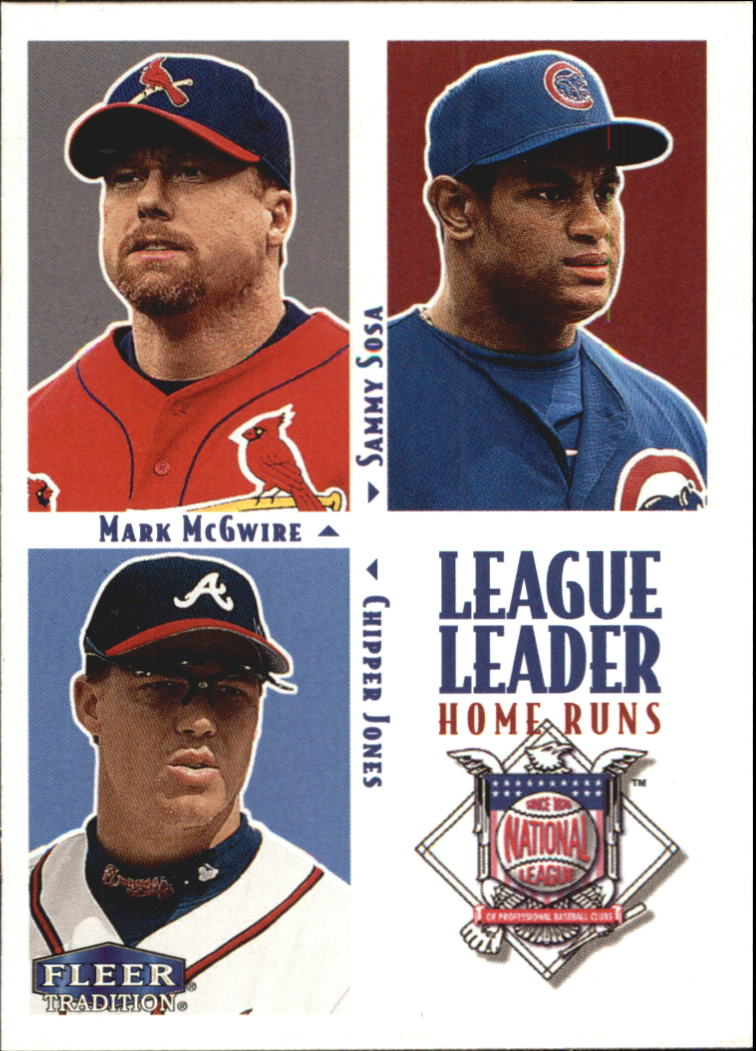 2000 Fleer Tradition #2 NL Home Run LL