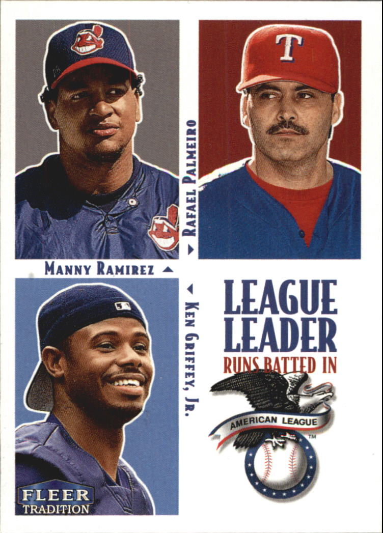2000 Fleer Tradition #3 AL RBI LL