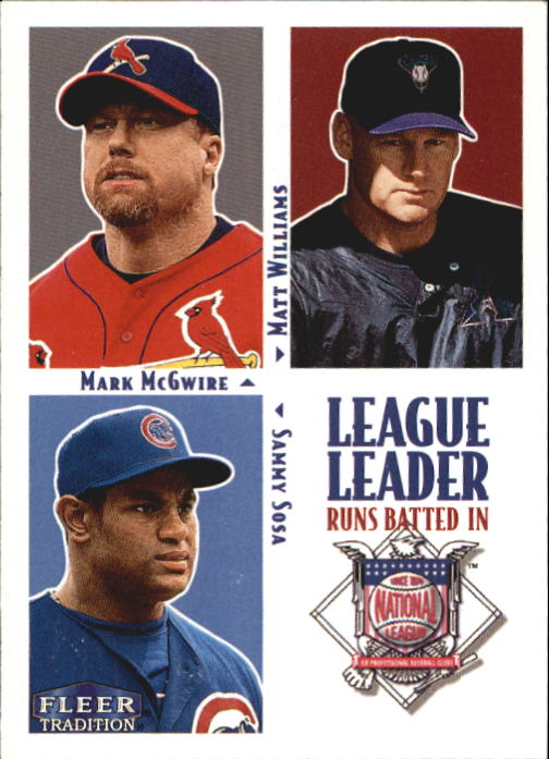 2000 Fleer Tradition #4 NL RBI LL