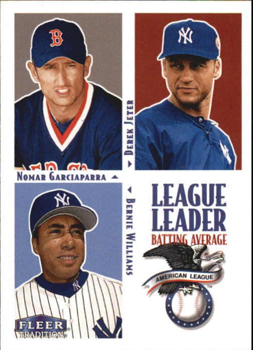 2000 Fleer Tradition #5 AL Avg LL
