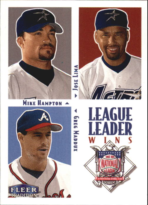 2000 Fleer Tradition #8 NL Wins LL